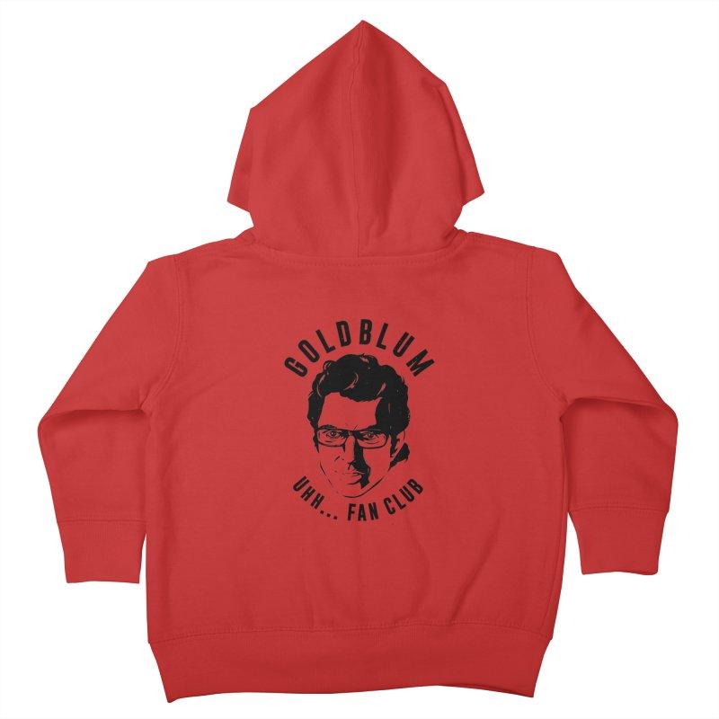 Goldblum fan club Kids Toddler Zip-Up Hoody by danielstevens's Artist Shop