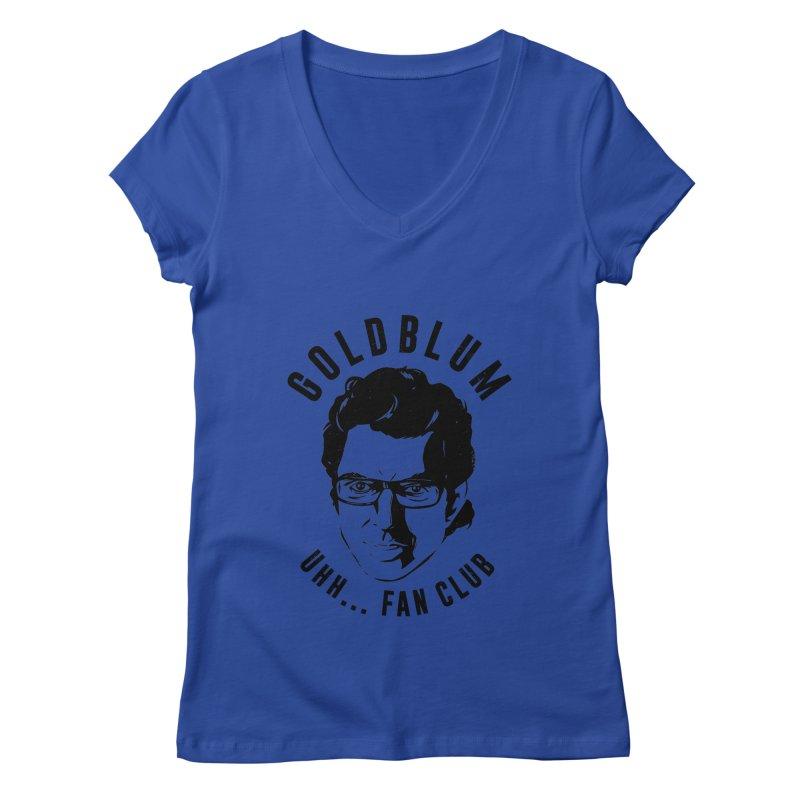 Goldblum fan club Women's Regular V-Neck by danielstevens's Artist Shop