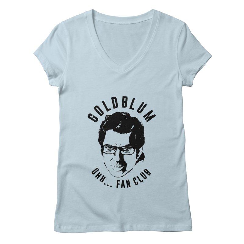 Goldblum fan club Women's V-Neck by Daniel Stevens's Artist Shop