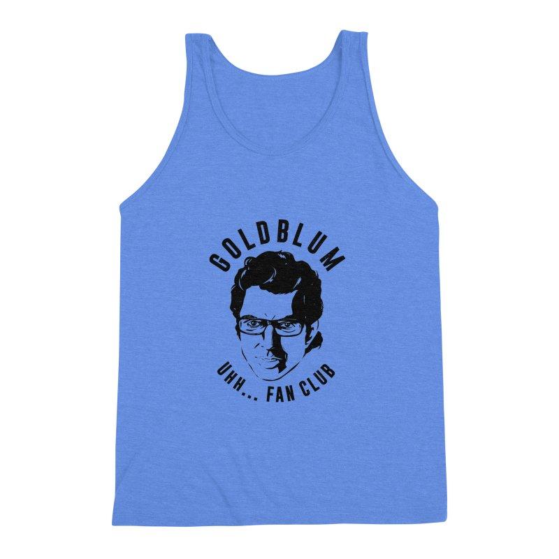 Goldblum fan club Men's Triblend Tank by danielstevens's Artist Shop
