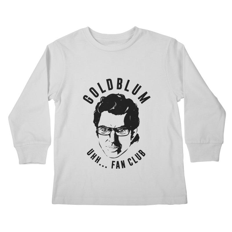 Goldblum fan club Kids Longsleeve T-Shirt by Daniel Stevens's Artist Shop