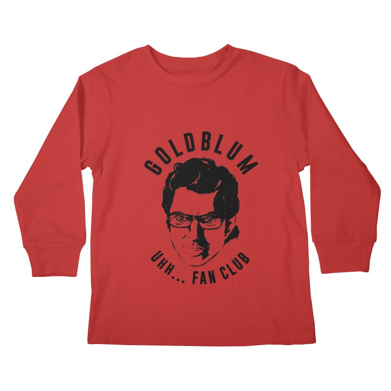 Goldblum fan club Kids Longsleeve T-Shirt by danielstevens's Artist Shop