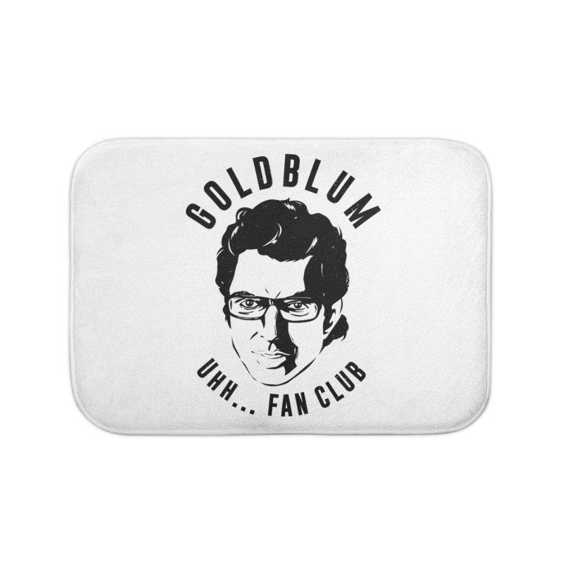 Goldblum fan club Home Bath Mat by danielstevens's Artist Shop