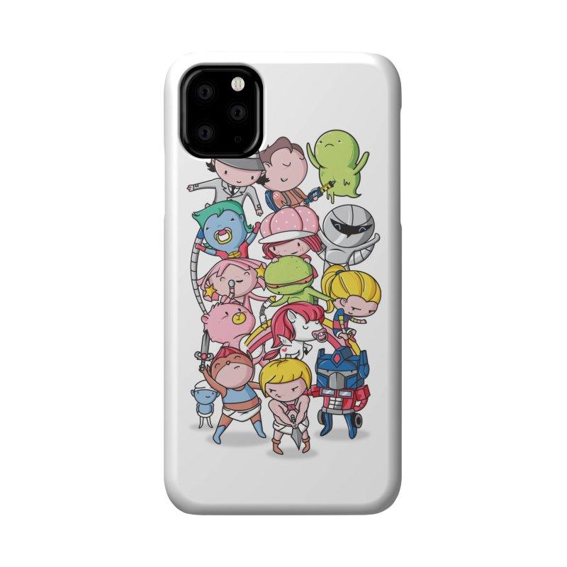 80's Babies Accessories Phone Case by Daniel Stevens's Artist Shop