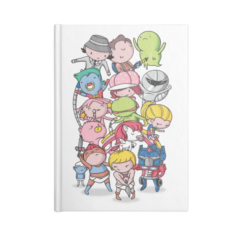 80's Babies Accessories Notebook by danielstevens's Artist Shop