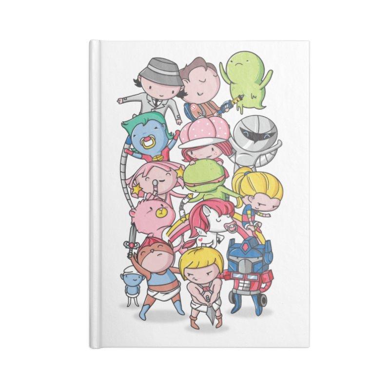 80's Babies Accessories Notebook by danielstevens's Artist Shop