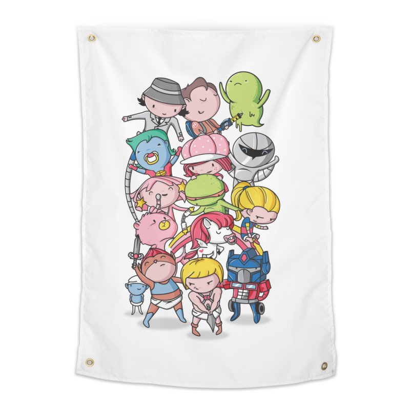 80's Babies Home Tapestry by danielstevens's Artist Shop