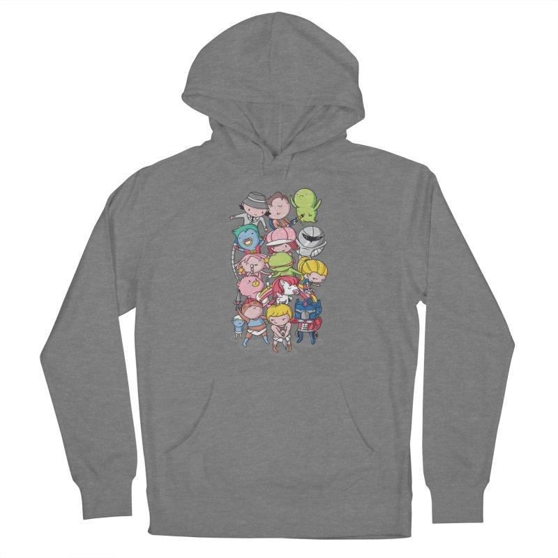 80's Babies Women's Pullover Hoody by Daniel Stevens's Artist Shop