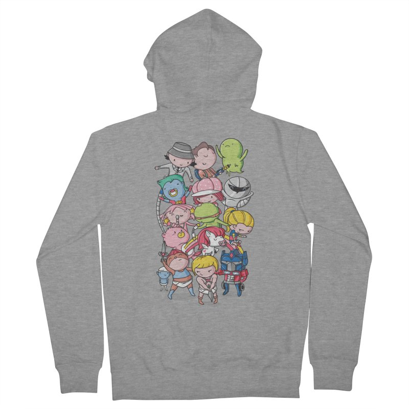 80's Babies Women's Zip-Up Hoody by danielstevens's Artist Shop