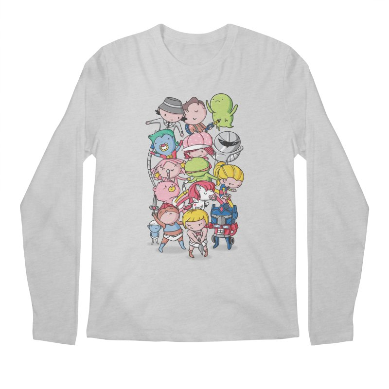80's Babies Men's Regular Longsleeve T-Shirt by danielstevens's Artist Shop