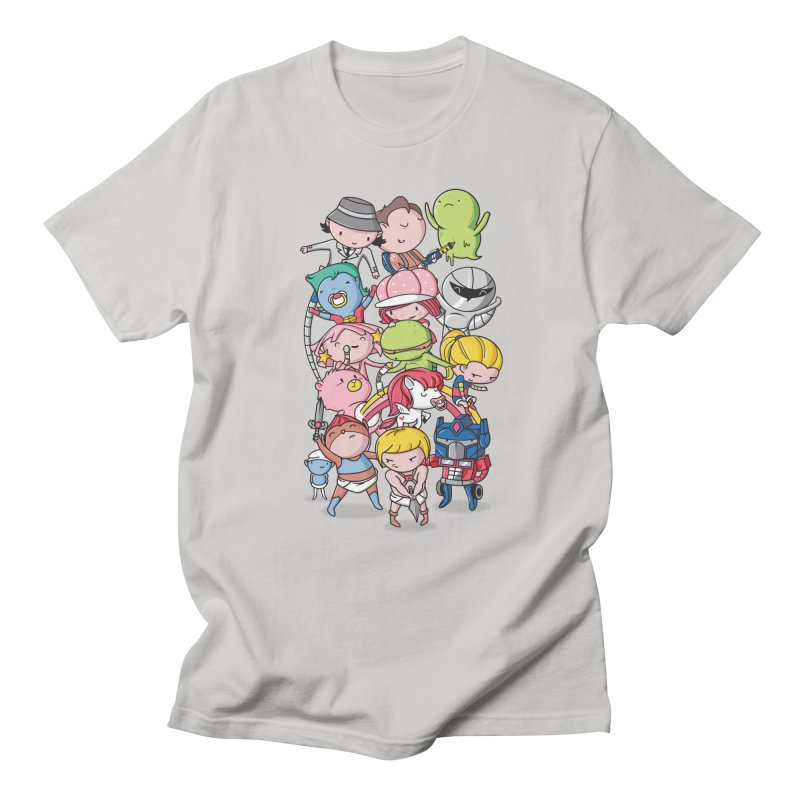 80's Babies Men's T-Shirt by Daniel Stevens's Artist Shop
