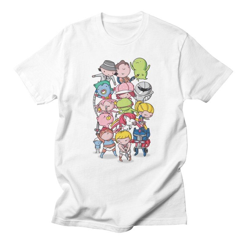 80's Babies Men's Regular T-Shirt by danielstevens's Artist Shop