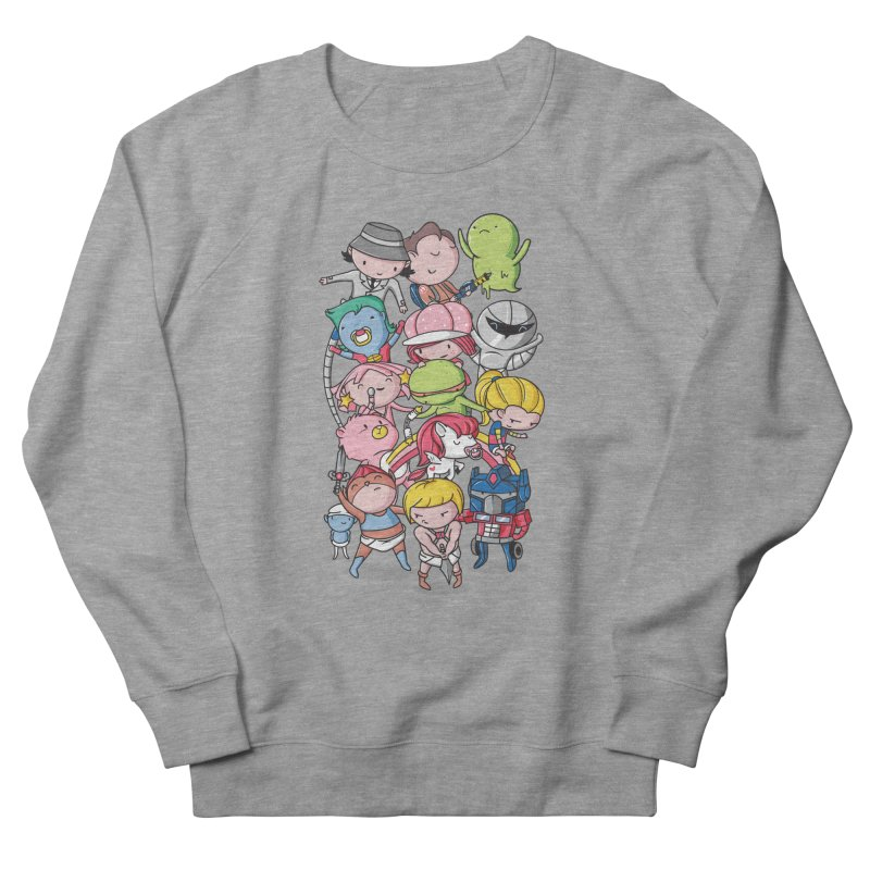 80's Babies Women's French Terry Sweatshirt by danielstevens's Artist Shop
