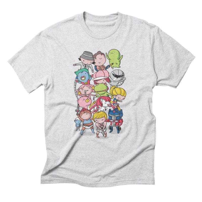 80's Babies Men's Triblend T-Shirt by danielstevens's Artist Shop