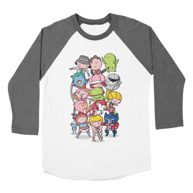 80's Babies Women's Baseball Triblend Longsleeve T-Shirt by Daniel Stevens's Artist Shop