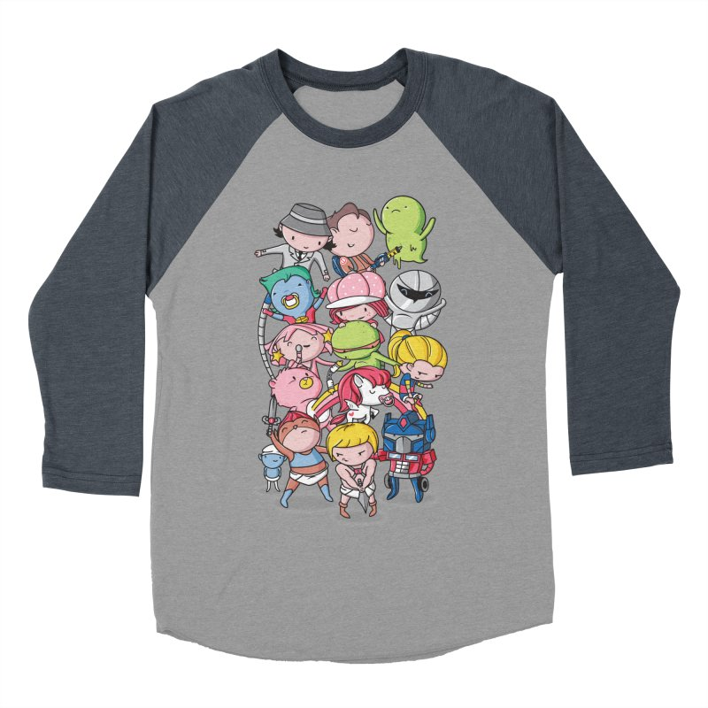 80's Babies Women's Baseball Triblend Longsleeve T-Shirt by danielstevens's Artist Shop