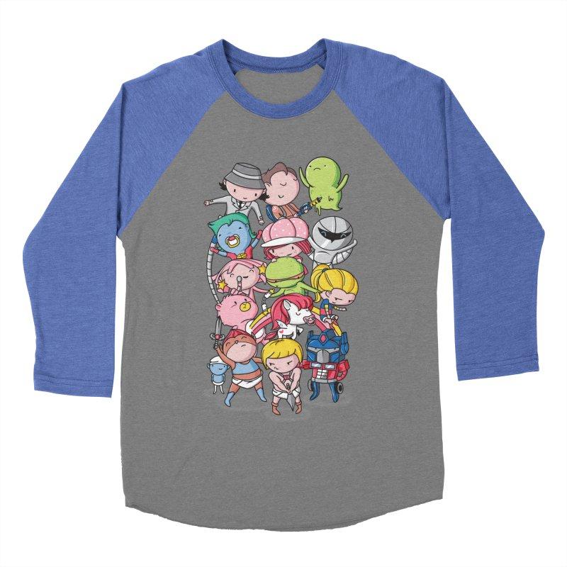 80's Babies Men's Baseball Triblend Longsleeve T-Shirt by danielstevens's Artist Shop