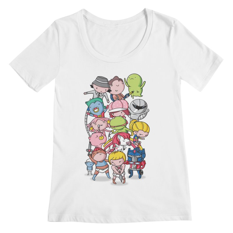 80's Babies Women's Regular Scoop Neck by danielstevens's Artist Shop