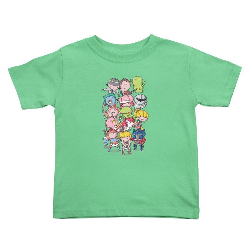 80's Babies Kids Toddler T-Shirt by danielstevens's Artist Shop