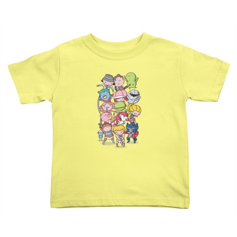 80's Babies Kids Toddler T-Shirt by danielstevens's Artist Shop