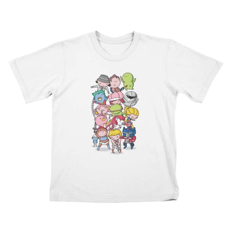 80's Babies Kids T-Shirt by Daniel Stevens's Artist Shop