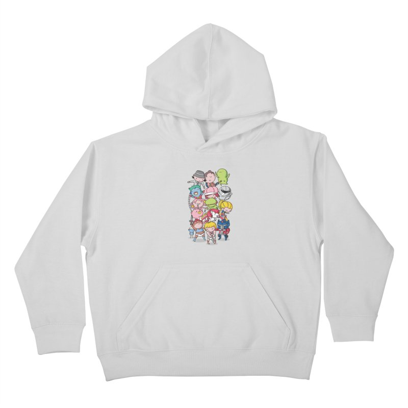 80's Babies Kids Pullover Hoody by danielstevens's Artist Shop
