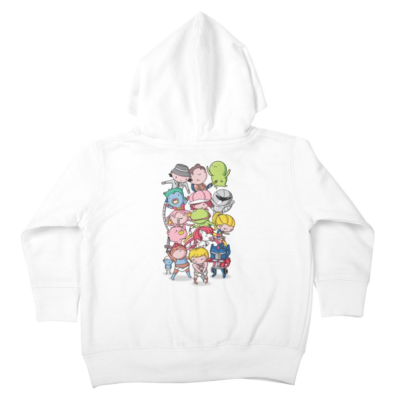 80's Babies Kids Toddler Zip-Up Hoody by danielstevens's Artist Shop