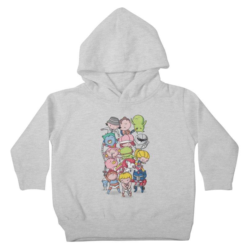 80's Babies Kids Toddler Pullover Hoody by danielstevens's Artist Shop