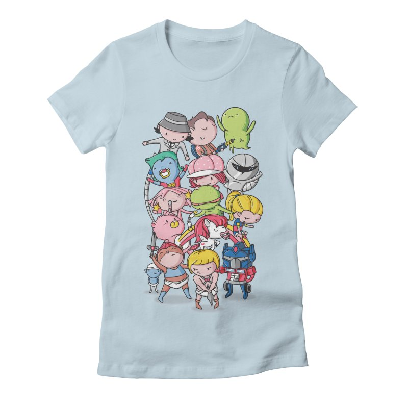 80's Babies Women's T-Shirt by Daniel Stevens's Artist Shop