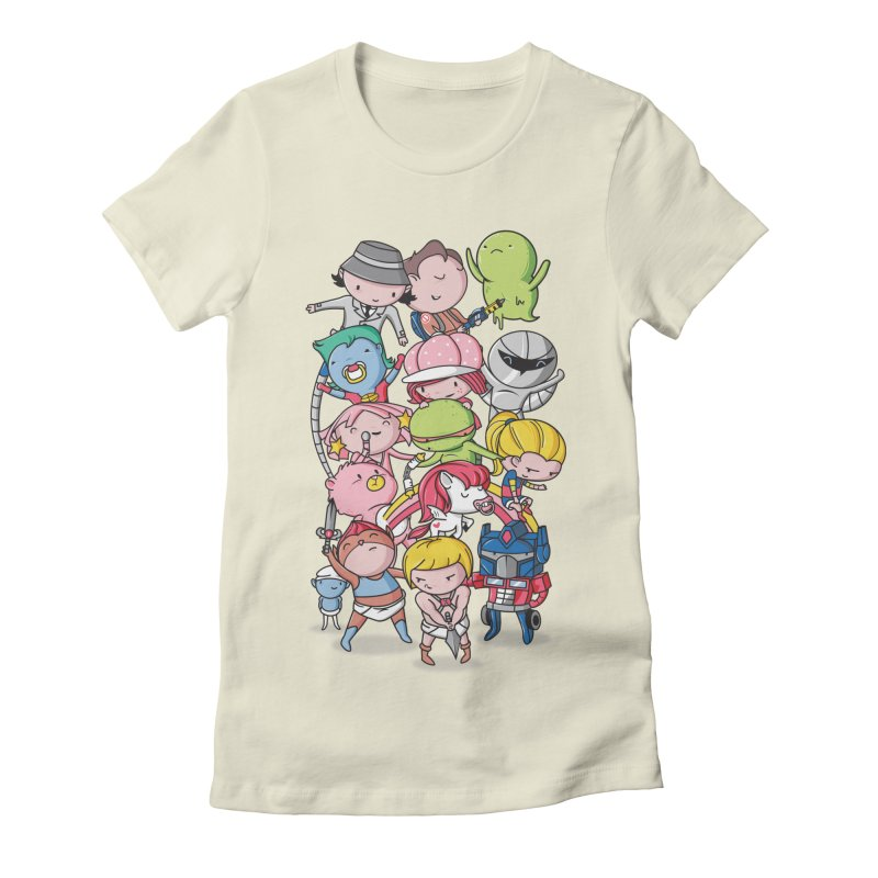 80's Babies Women's T-Shirt by Daniel Stevens's Artist Shop