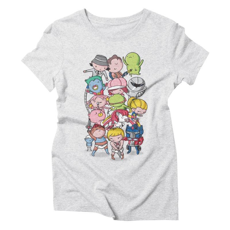 80's Babies Women's Triblend T-Shirt by danielstevens's Artist Shop
