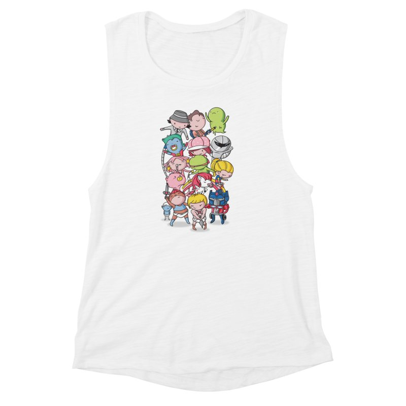 80's Babies Women's Muscle Tank by danielstevens's Artist Shop
