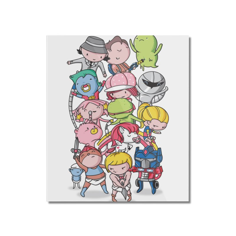 80's Babies Home Mounted Acrylic Print by danielstevens's Artist Shop