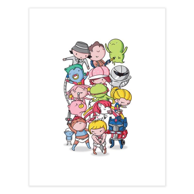 80's Babies Home Fine Art Print by Daniel Stevens's Artist Shop