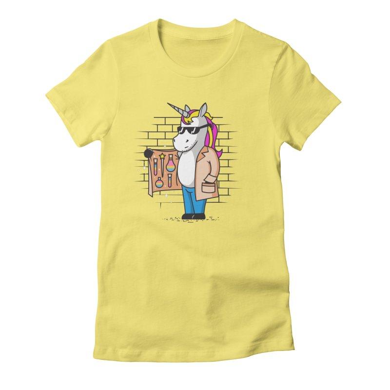 Pssst! I Got Magic Women's T-Shirt by Daniel Stevens's Artist Shop