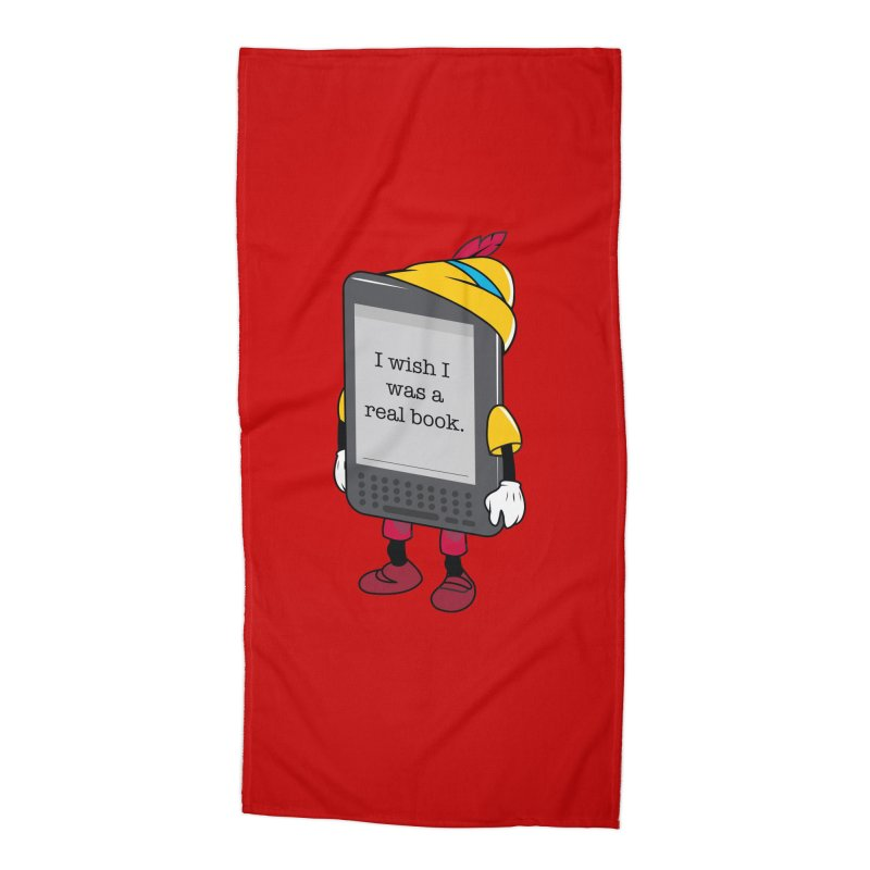 Wish upon an e-book Accessories Beach Towel by Daniel Stevens's Artist Shop