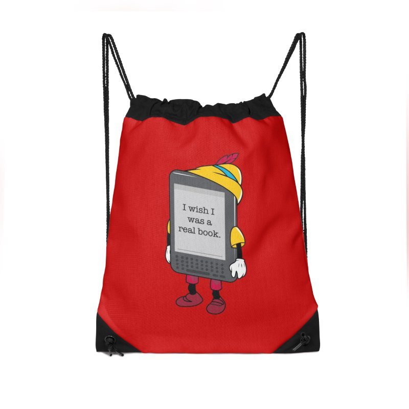 Wish upon an e-book Accessories Bag by Daniel Stevens's Artist Shop