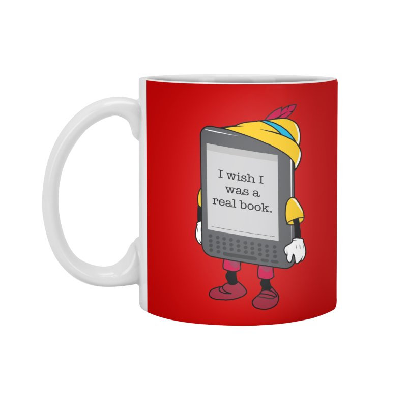Wish upon an e-book Accessories Mug by danielstevens's Artist Shop