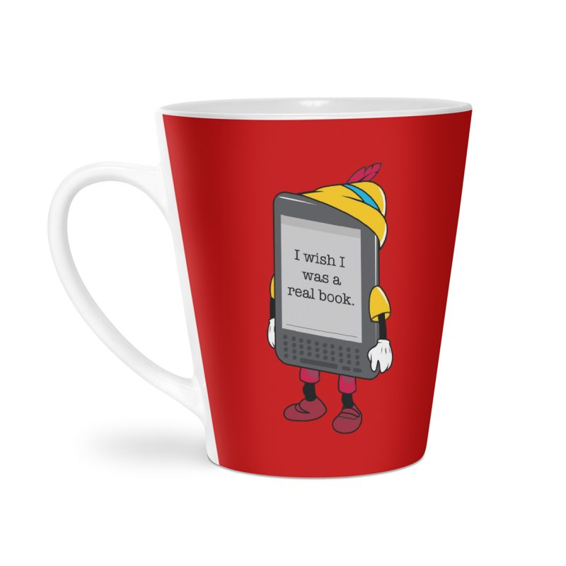 Wish upon an e-book Accessories Latte Mug by Daniel Stevens's Artist Shop