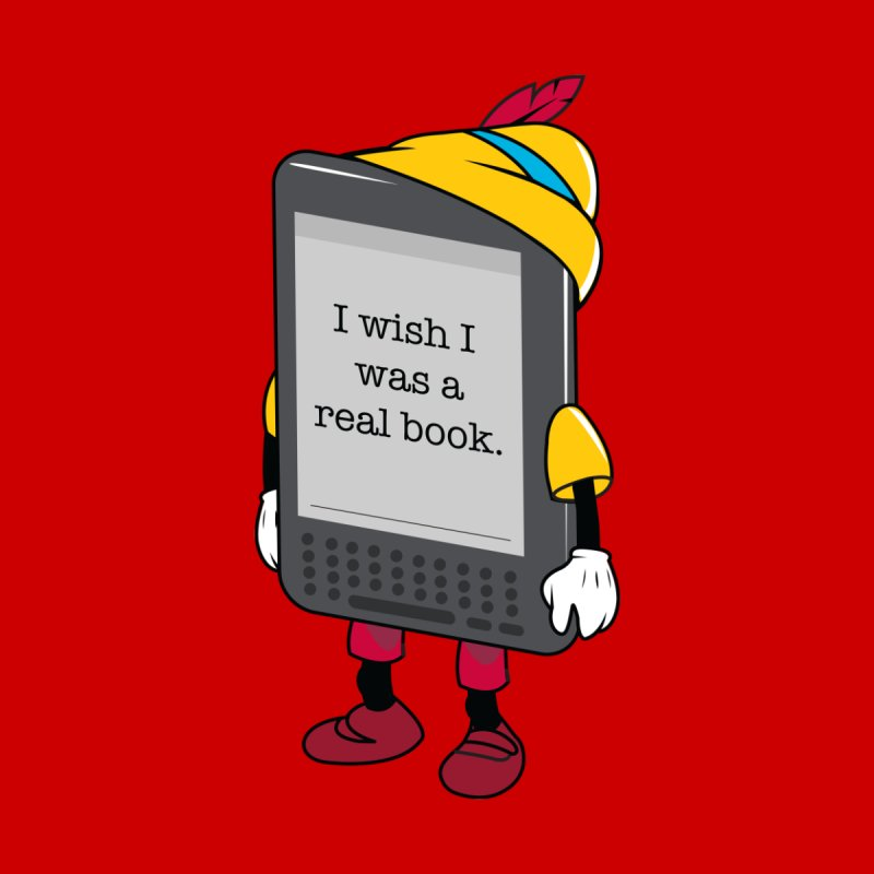 Wish upon an e-book Kids T-Shirt by Daniel Stevens's Artist Shop