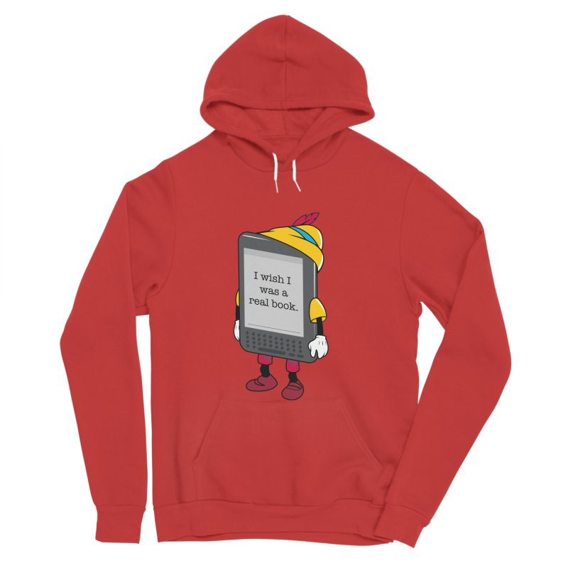 Wish upon an e-book Women's Sponge Fleece Pullover Hoody by danielstevens's Artist Shop