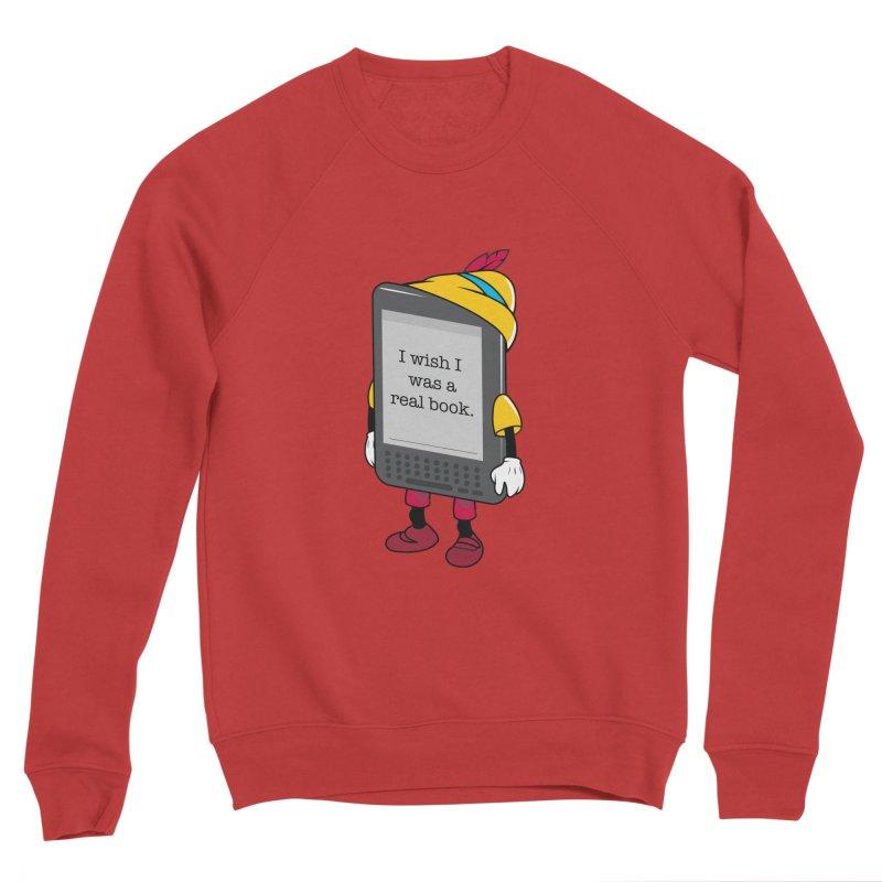 Wish upon an e-book Women's Sponge Fleece Sweatshirt by danielstevens's Artist Shop