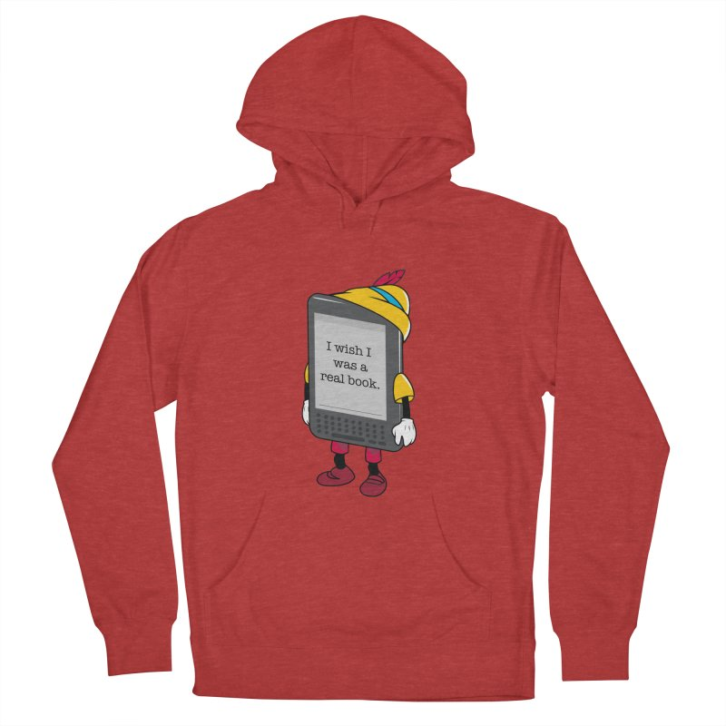Wish upon an e-book Women's Pullover Hoody by Daniel Stevens's Artist Shop