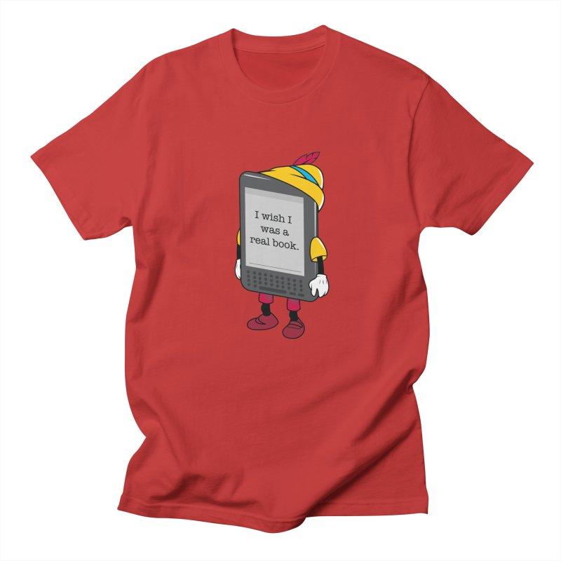 Wish upon an e-book Men's T-Shirt by Daniel Stevens's Artist Shop
