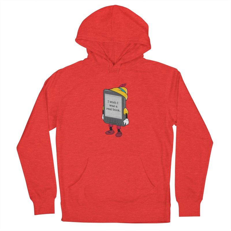 Wish upon an e-book Men's Pullover Hoody by Daniel Stevens's Artist Shop