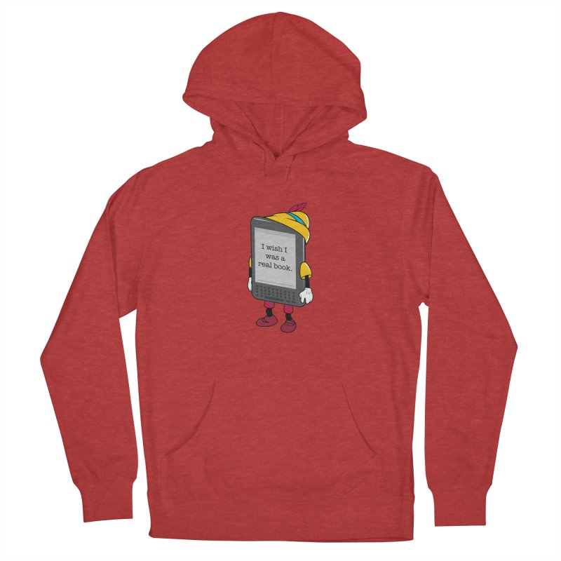 Wish upon an e-book Men's Pullover Hoody by Daniel Stevens's Artist Shop
