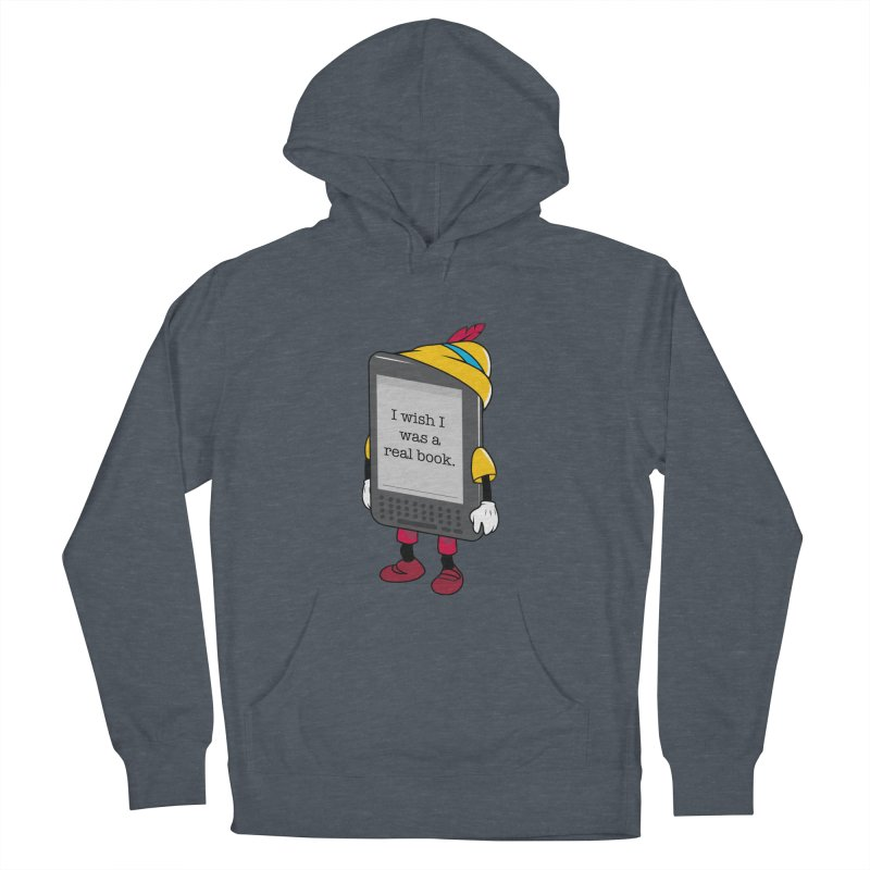 Wish upon an e-book Women's French Terry Pullover Hoody by danielstevens's Artist Shop