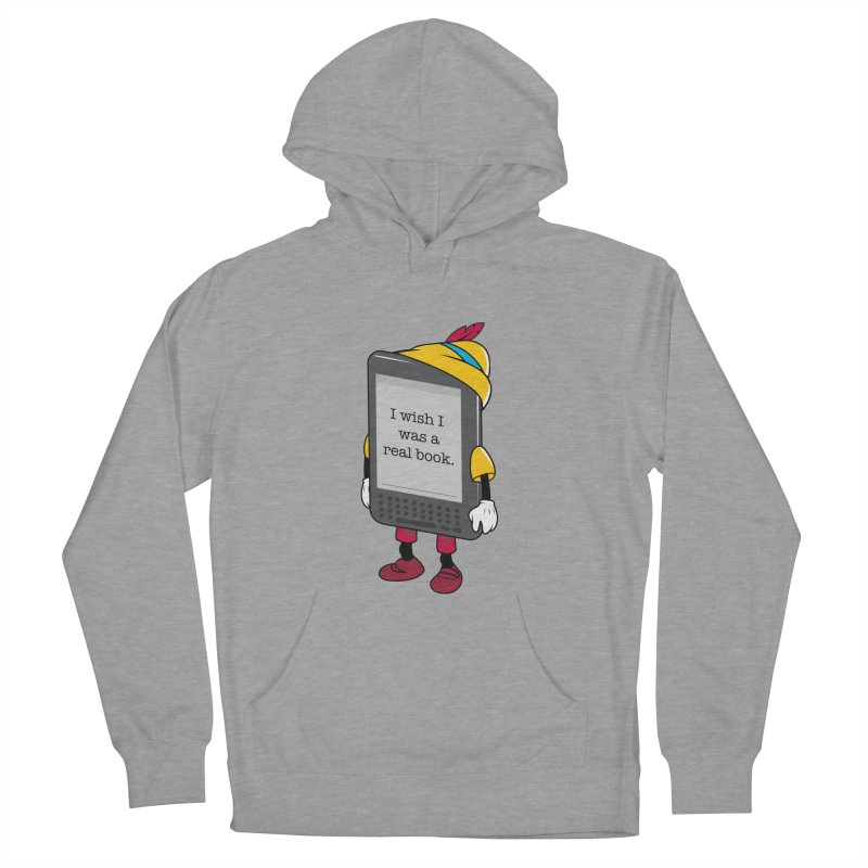 Wish upon an e-book Men's French Terry Pullover Hoody by danielstevens's Artist Shop