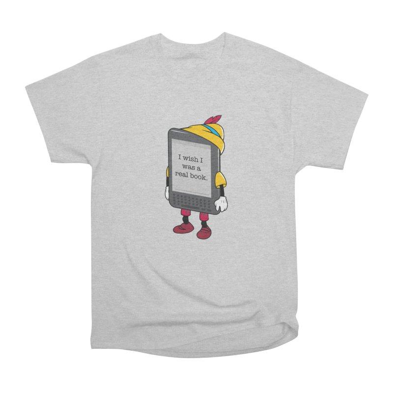 Wish upon an e-book Women's Heavyweight Unisex T-Shirt by danielstevens's Artist Shop