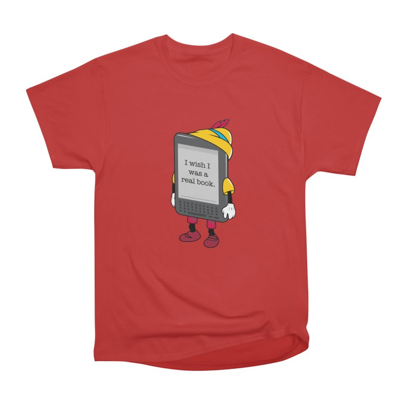 Wish upon an e-book Men's T-Shirt by Daniel Stevens's Artist Shop